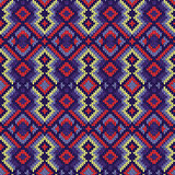 Ornamental Seamless Knitted Pattern