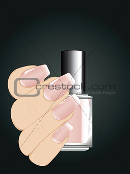 Nails with Fashion Manicure