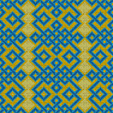 Knitted Seamless Ornate Pattern