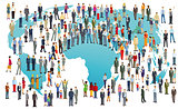 World Population International, illustration