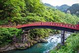 Shinkyo bridge, Nikko, Japan