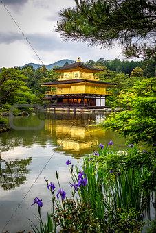 Kinkaku-ji golden temple, Kyoto, Japan