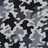 Modern fashion vector trendy camo pattern