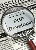 Now Hiring PHP Developer. 3D.