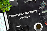 Bankruptcy Recovery Services Concept. 3D render.