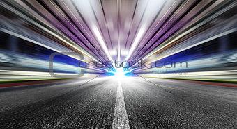 speed in urban tunnel