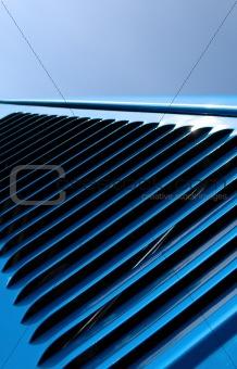 auto hood abstract