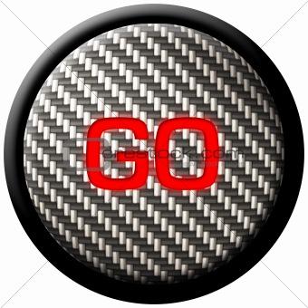 Carbon Fiber GO Button