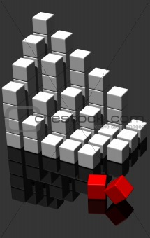 building blocks - 3d render