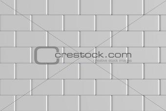 brick wall 3d render