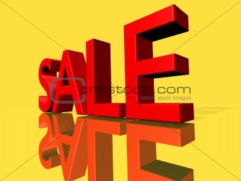 a big sale sign