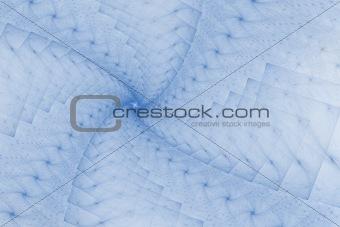 Fractal blue design