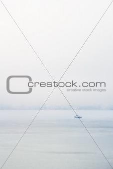 Fog and Ocean