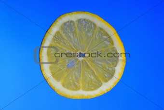 Slice of a lemon