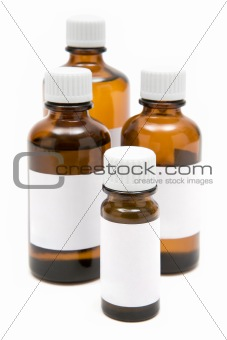 Various Medicine Bottles