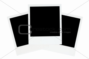 Three Old-fashioned Photo Frames
