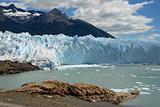 The Perito Moreno Glacier in Patagonia, Argentina.