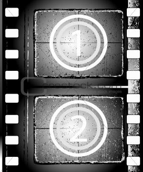 textured film strip