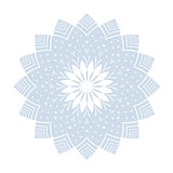 Snowflake pattern. Winter design element.
