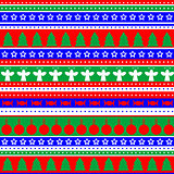 Wrapping paper seamless pattern for Christmas gifts