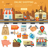 Internet Shopping Banner