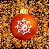 Christmas GlassRed Ball