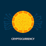 Cryptocurrency Technology Concept