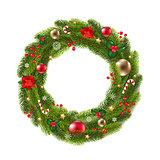 Wreath Fur Tree