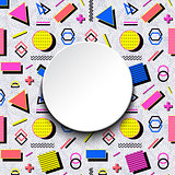 Colorful modern background