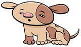 puppy dog character cartoon illustration