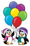 Happy party penguins image 1