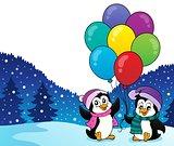 Happy party penguins image 2