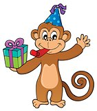 Party monkey theme image 1