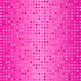 Set of Halftone Dots. Dots on Pink Background.