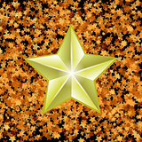 Gold Metal Star