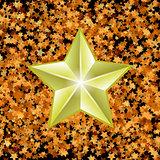Gold Metal Star