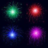 Fireworks, set
