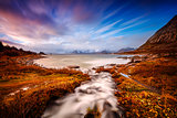 Beautiful landscape of Lofoten