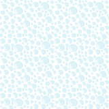 Doodle style background of water drops