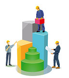 Building performance balance sheet, illustration