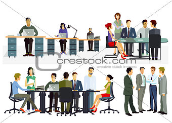 Business meeting and consultation