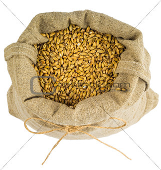 a bag of barley