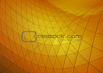 3D abstract background tiles. 3D rendering.