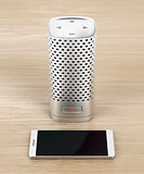 Smart speaker and smartphone