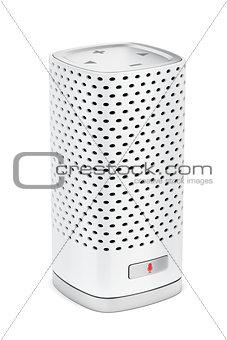 Smart speaker on white