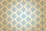 Victorian blue pattern