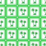 Seamless Pattern, Palms