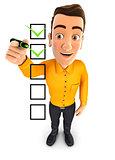 3d man checklist