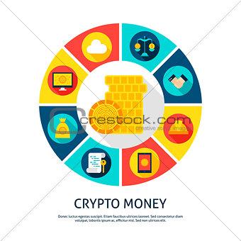 Crypto Money Concept