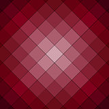 Pink and red checkered background pattern